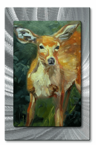 Doe Metal Wall Art