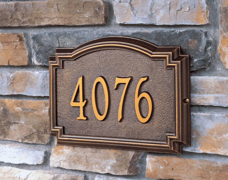 Doorway House  Marker - Entryway Plaque