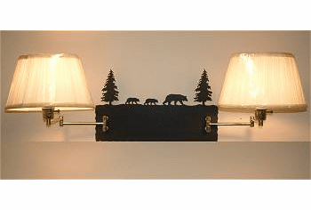 Double Swing Arm Wall Lamp - Choice of Designs