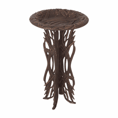 Dragonfly Birdbath & Pedestal - Oil-Rubbed Bronze