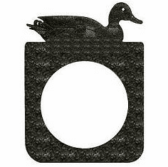 Duck Door Knob Backing Plate