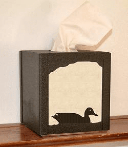 Duck Facial Tissue Box Cover