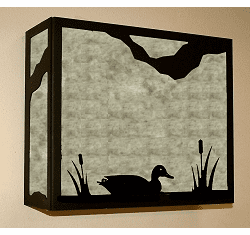 Duck Rectangular Sconce