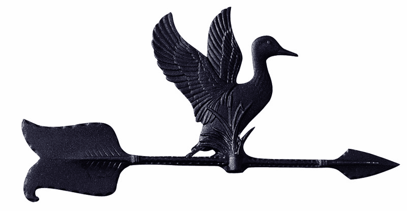Duck Weathervane - Wild Duck Design