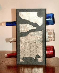 Duck Wine Bottle Rack