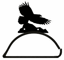 Eagle Design Paper Towel/Toilet Paper Holder