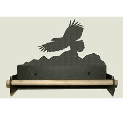 Eagle Paper Towel Holder With Wood Bar