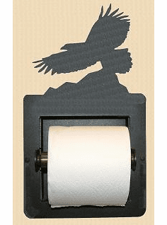 Eagle Toilet Paper Holder (Recessed)