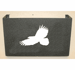 Eagle Wall Mount Magazine Rack