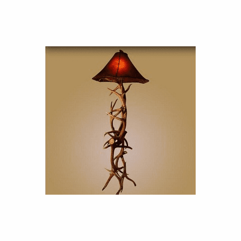 Elk and Mule Standard Floor Lamp