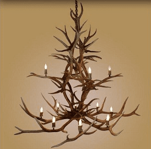 Elk Double Tiered 12 Light Chandelier