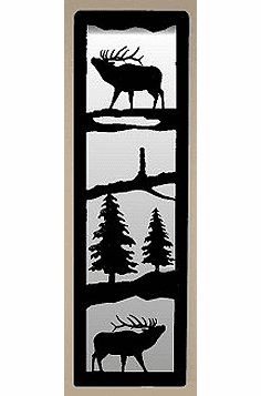 Elk Large Accent Mirror Wall Art