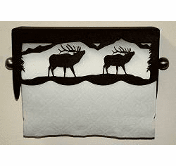 Elk Scenery Paper Towel Holder
