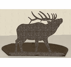 Elk Silhouette Candle Holder