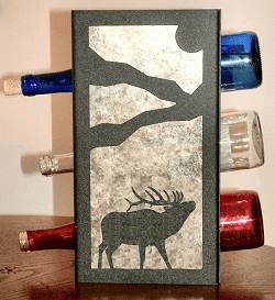 Elk Wine Bottle Rack