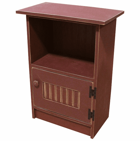 End Table with Door, 22 inch wide
