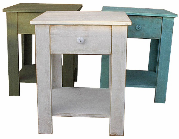 End Table with Drawer, 20 inch wide