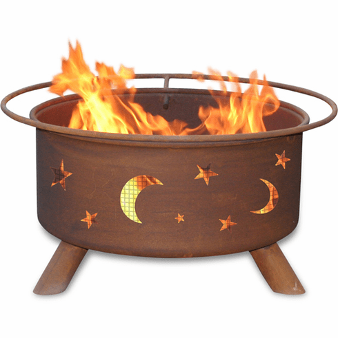 Evening Sky Design Fire Pit - Deck Fire Pit Kit