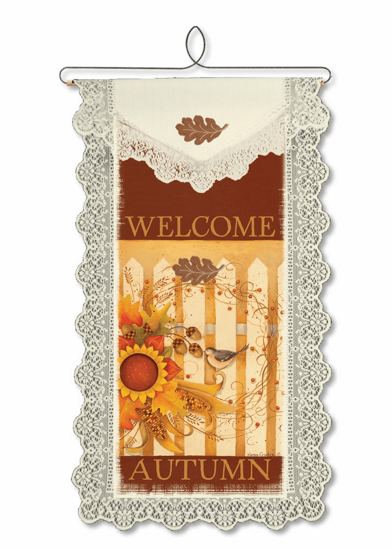 Fall Wall and Window Decor