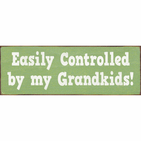Family & Friend Sign...Easily Controlled By My Grandkids