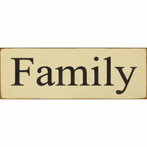 Family & Friend Sign...Family