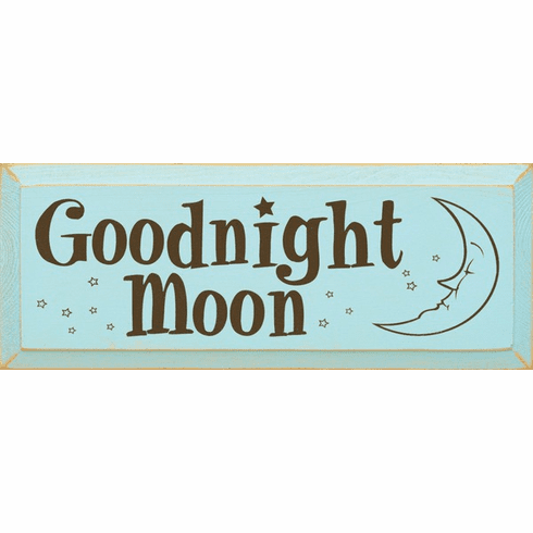 Family & Friend Sign...Goodnight Moon