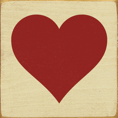 Family & Friend Sign...Heart Graphic