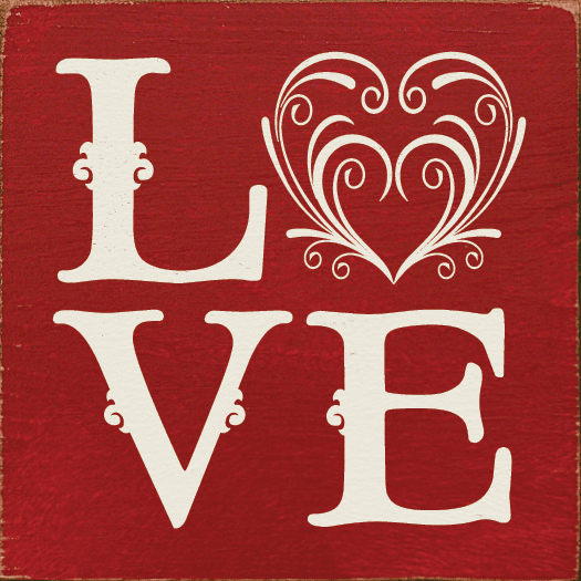 Family & Friend Sign...Love (Tile)