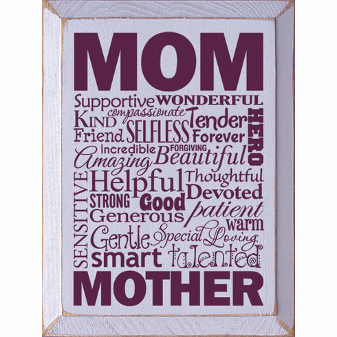 Family & Friend Sign...Mom Wordle