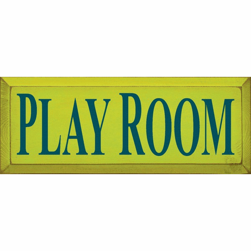 Family & Friend Sign...Play Room