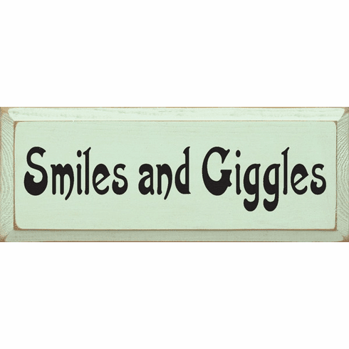 Family & Friend Sign...Smiles & Giggles