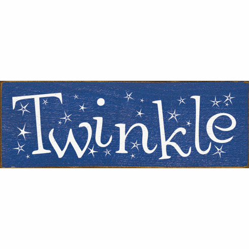 Family & Friend Sign...Twinkle