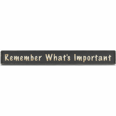 Family Home - Remember What's Important
