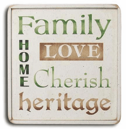 Family, Love, Home