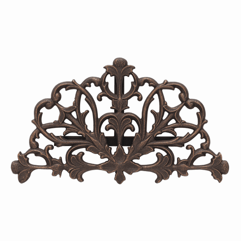 Filigree Hose Holder - Oiled-Rubbed Bronze