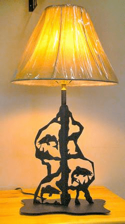 Fish Scenery Style Table Lamp