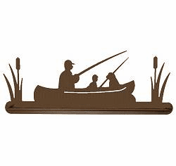 Fisherman Scenery Towel Bar