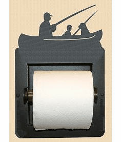 Fisherman Toilet Paper Holder (Recessed)