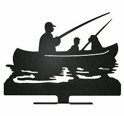 FISHERMEN IN BOAT DESIGN