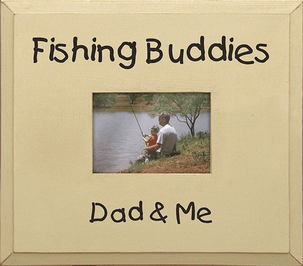 Fishing Buddies - Dad & Me Frame
