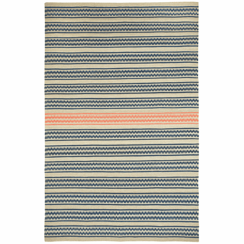 Flat Woven Beige Apricot Rug
