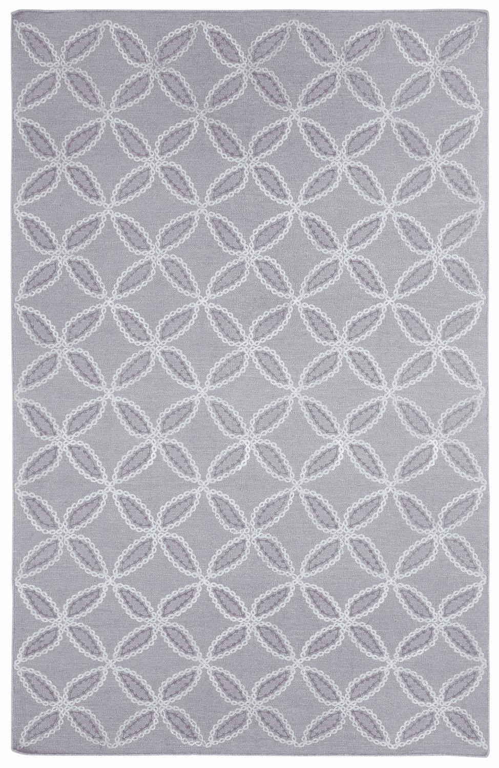 Flat Woven Lilac Rug