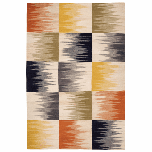Flat Woven Multitone Rug
