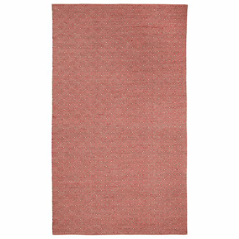 Flat Woven Ruby Rug