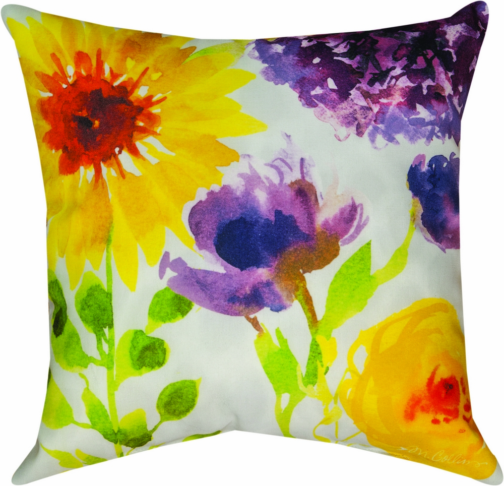 Flower Power Climaweave Pillow