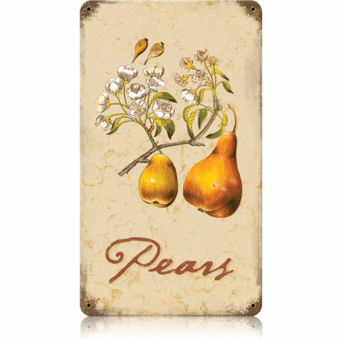 Flowering Pear Tree - Kitchen Flower Sign