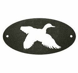 Flying Duck Door Plaque