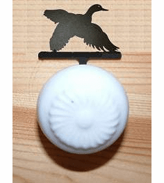 Flying Duck Drawer Knob Backing Plate
