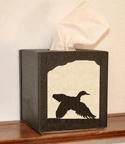 Flying Duck Facial Tissue Box Cover
