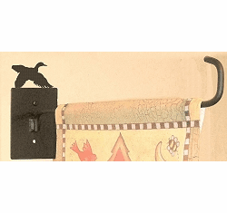 Flying Duck Garden Flag Holder